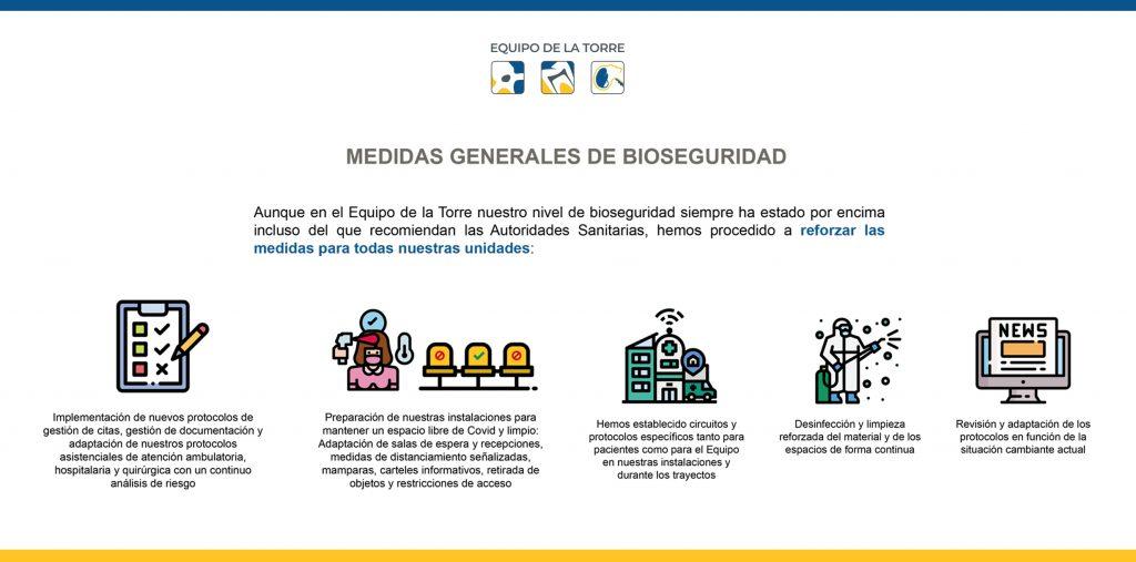 medidas generales de bioseguridad